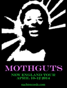 mothguts 2013 tour